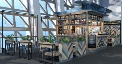 поесть в новом терминале аэропорта Симферополь.
