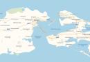 Крымский мост появился на Яндекс Картах