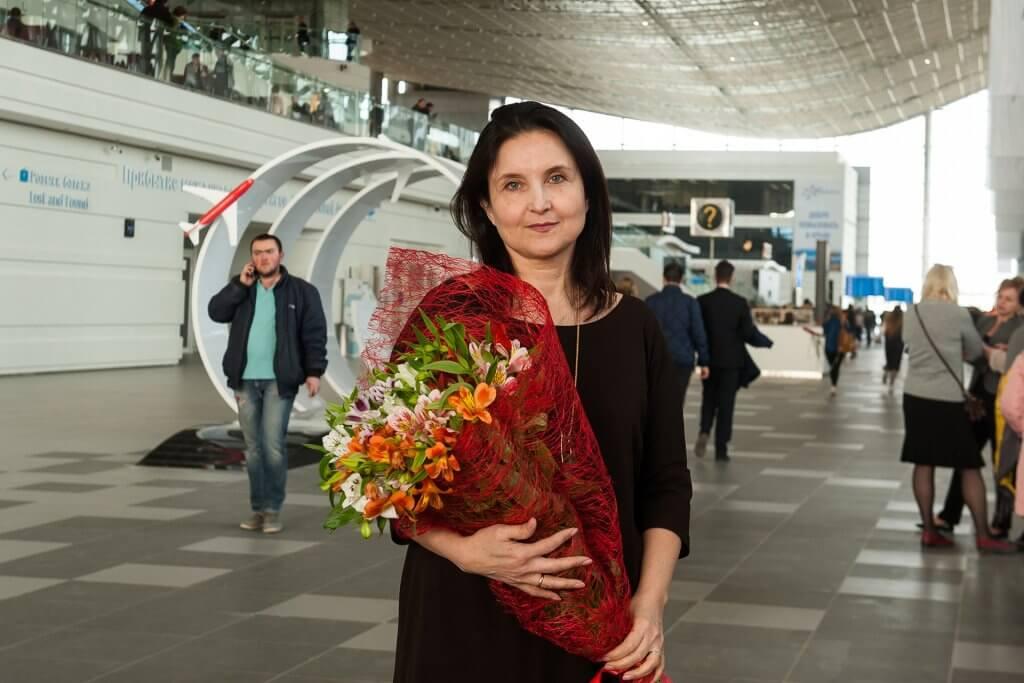 Первый пассажир Нового аэропорта Симферополь