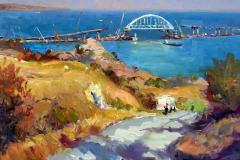 Крымский мост картина 14
