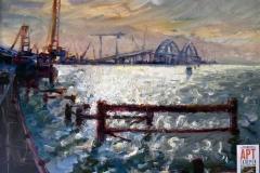 Крымский мост картина 15