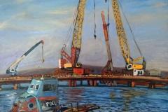 Крымский мост картина 22