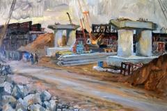 Крымский мост картина 25