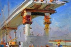 Крымский мост картина 28