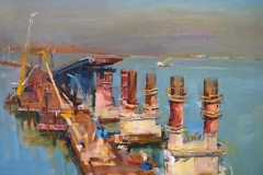 Крымский мост картина 29