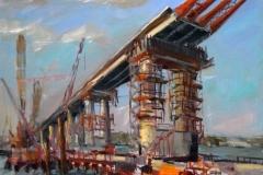 Крымский мост картина 4