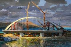 Крымский мост картина 5