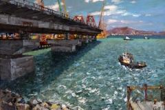 Крымский мост картина 9