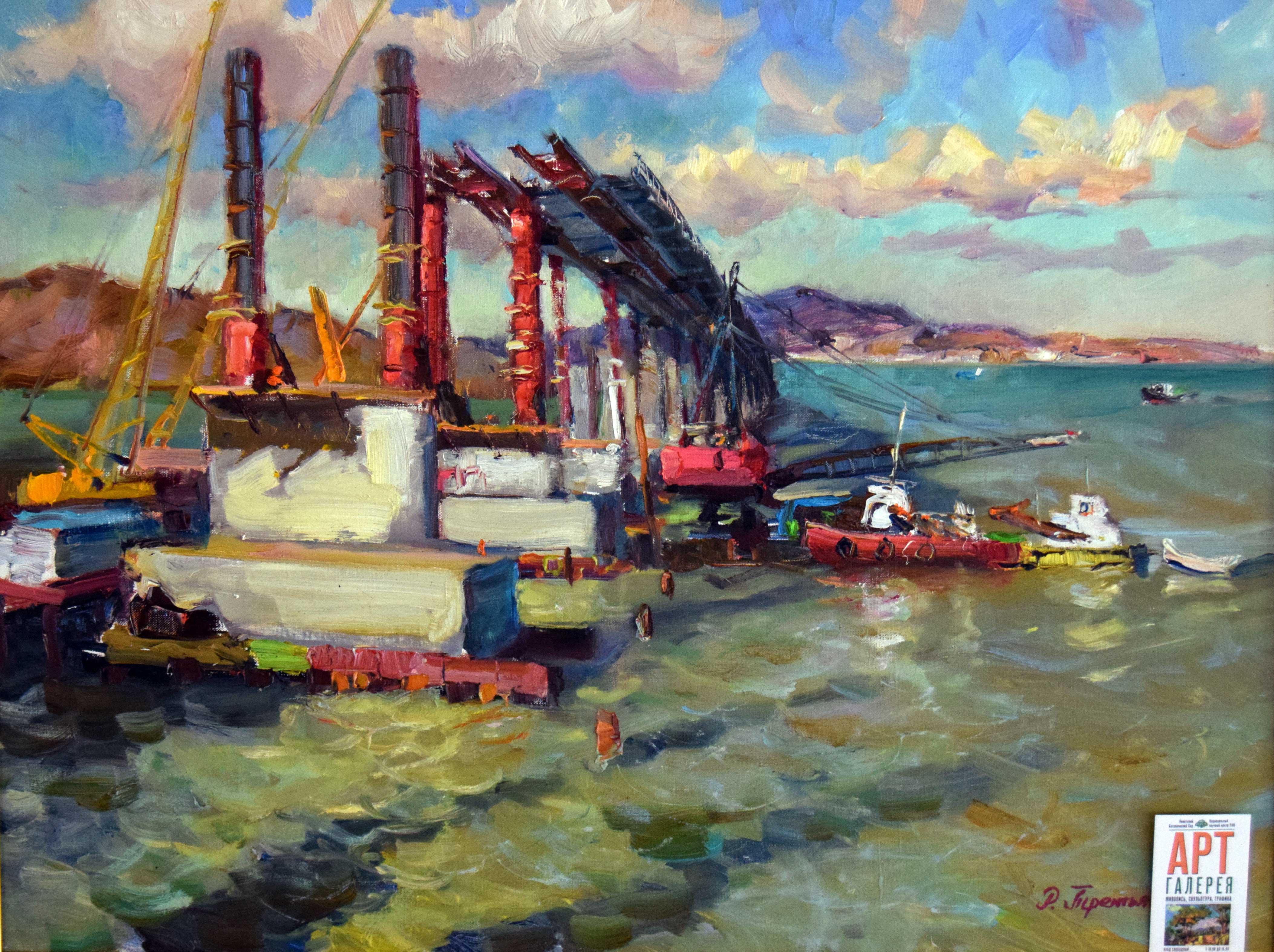 Крымский мост картина 10