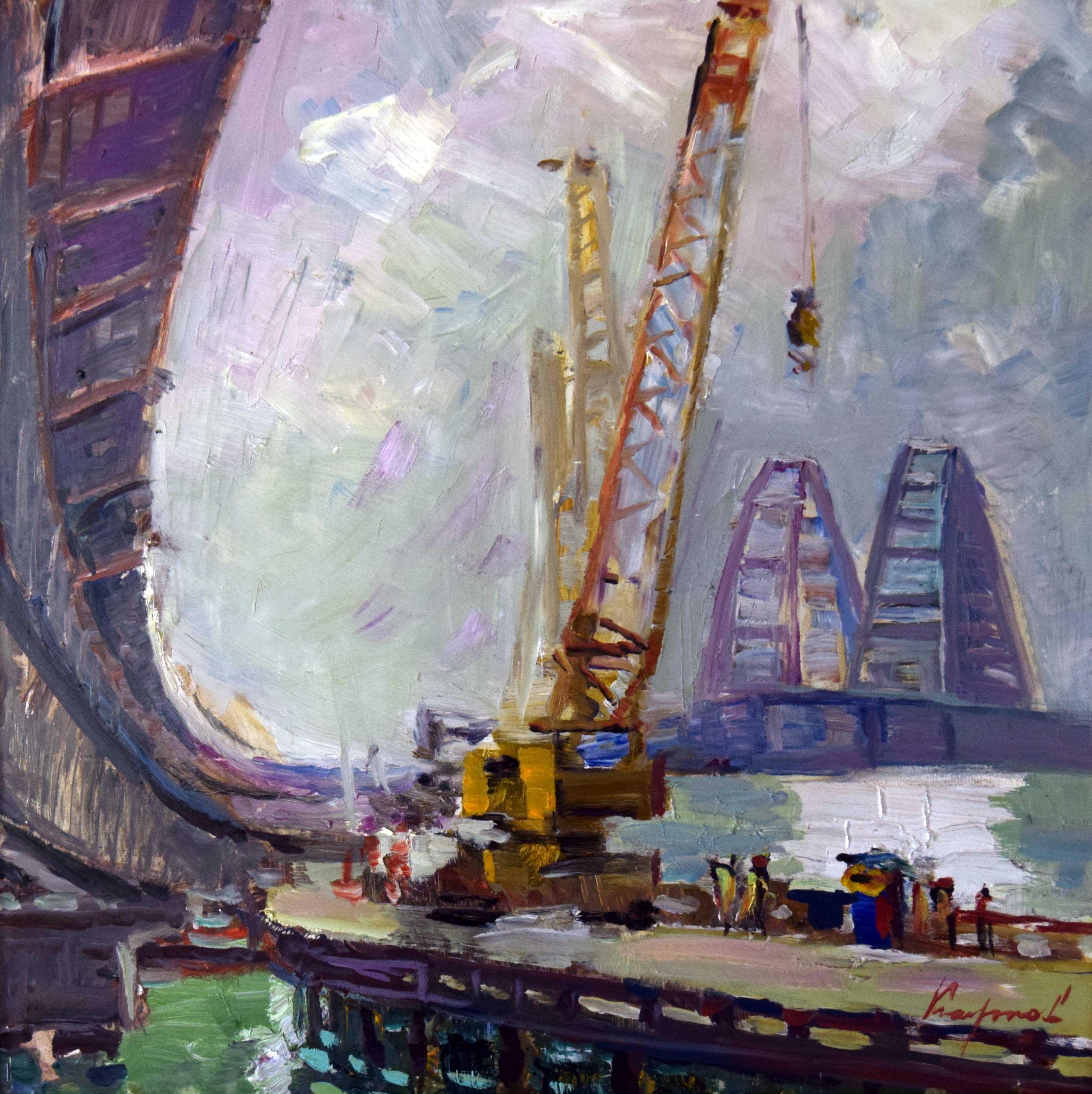 Крымский мост картина 12