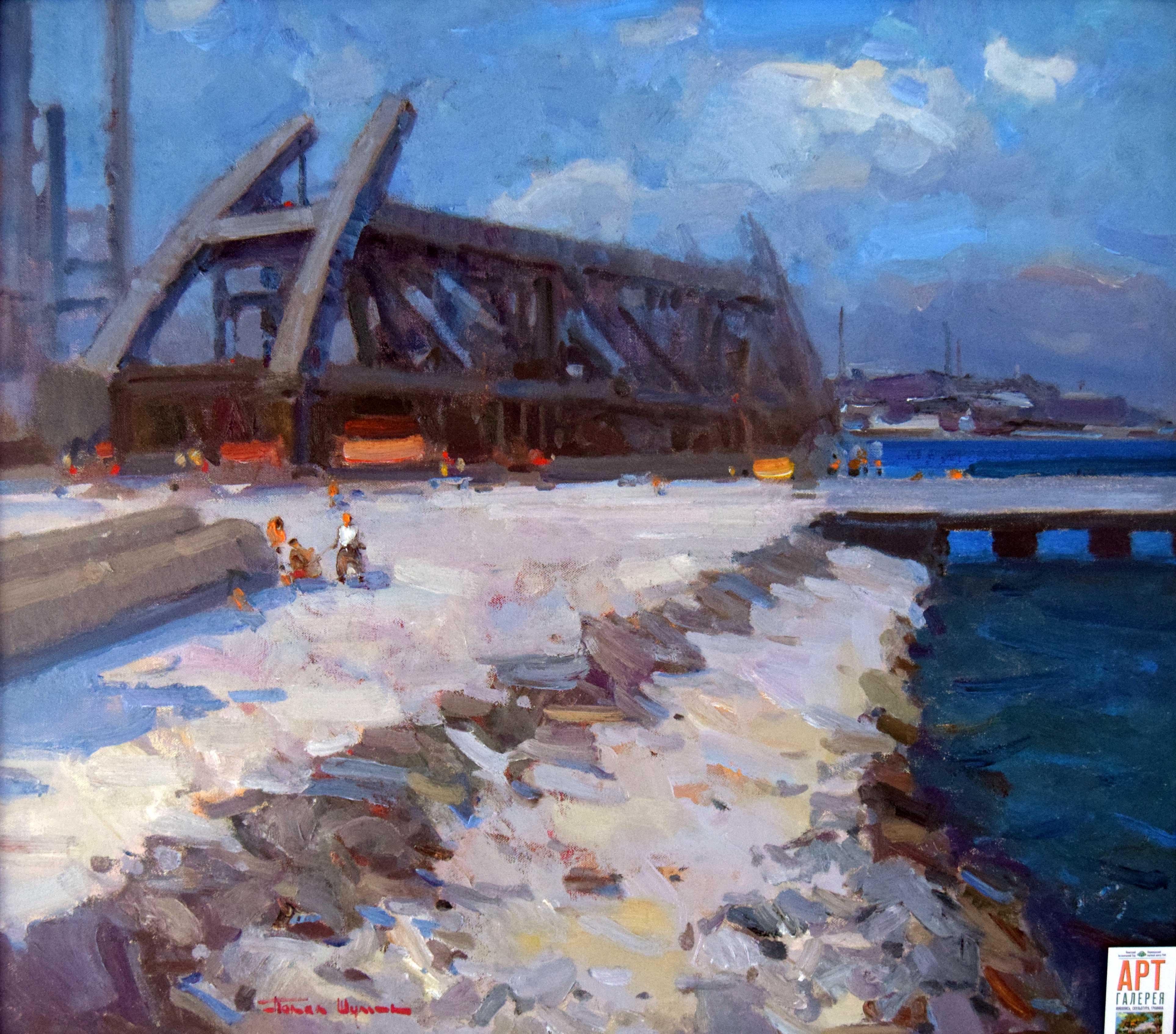 Крымский мост картина 13