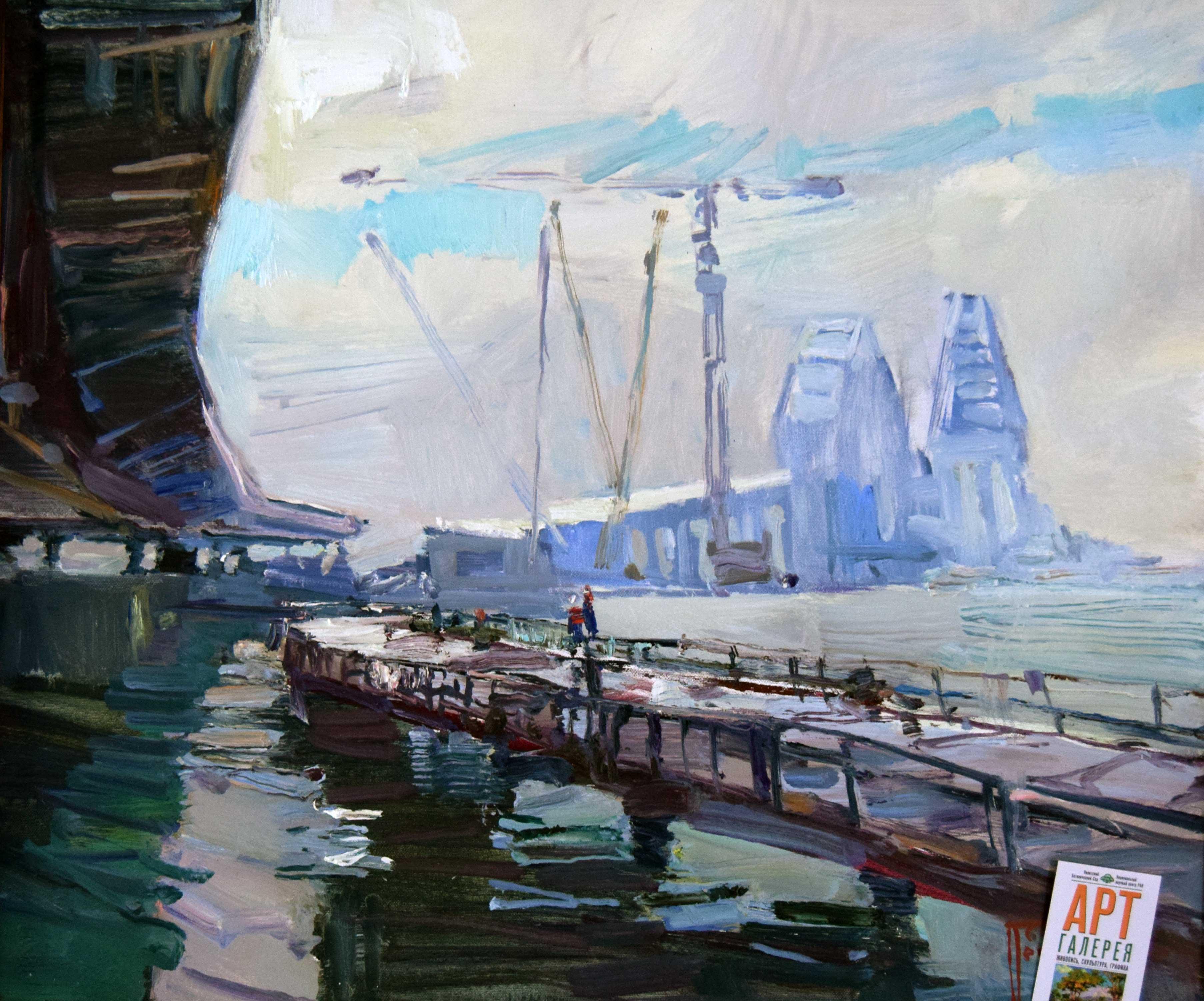 Крымский мост картина 23