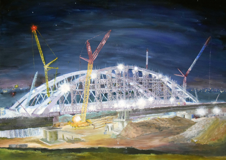 Крымский мост картина 24