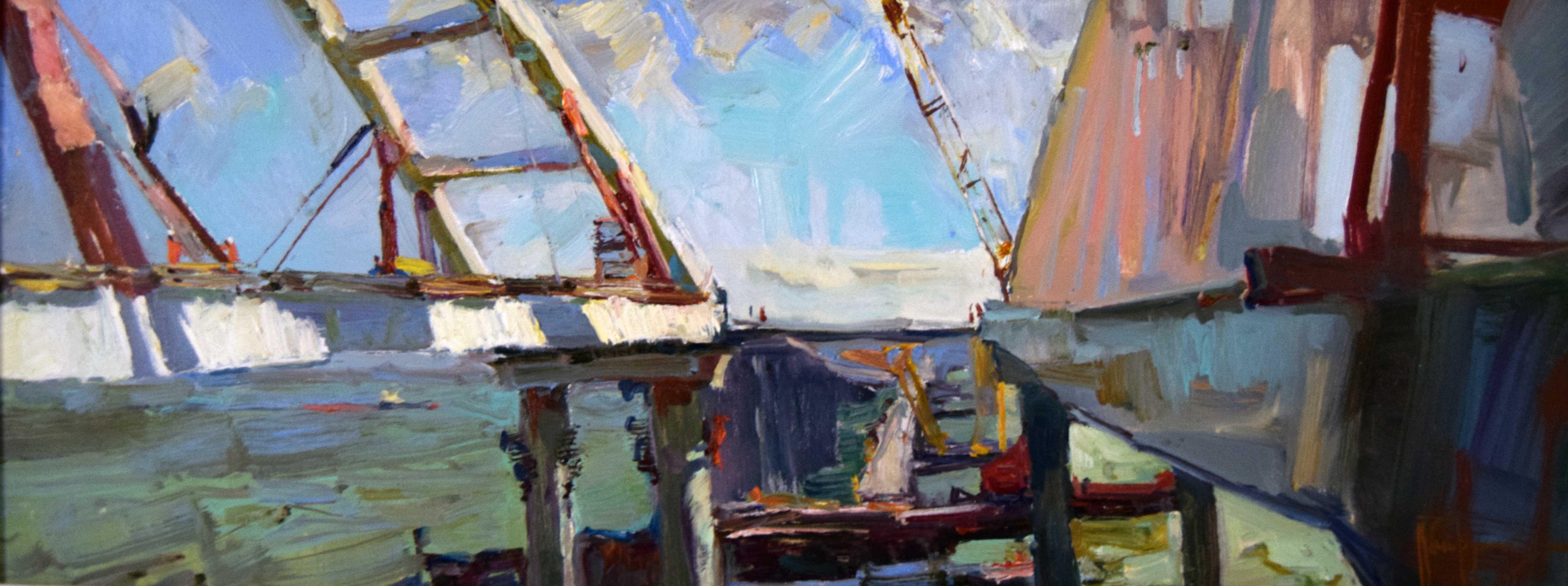 Крымский мост картина 26