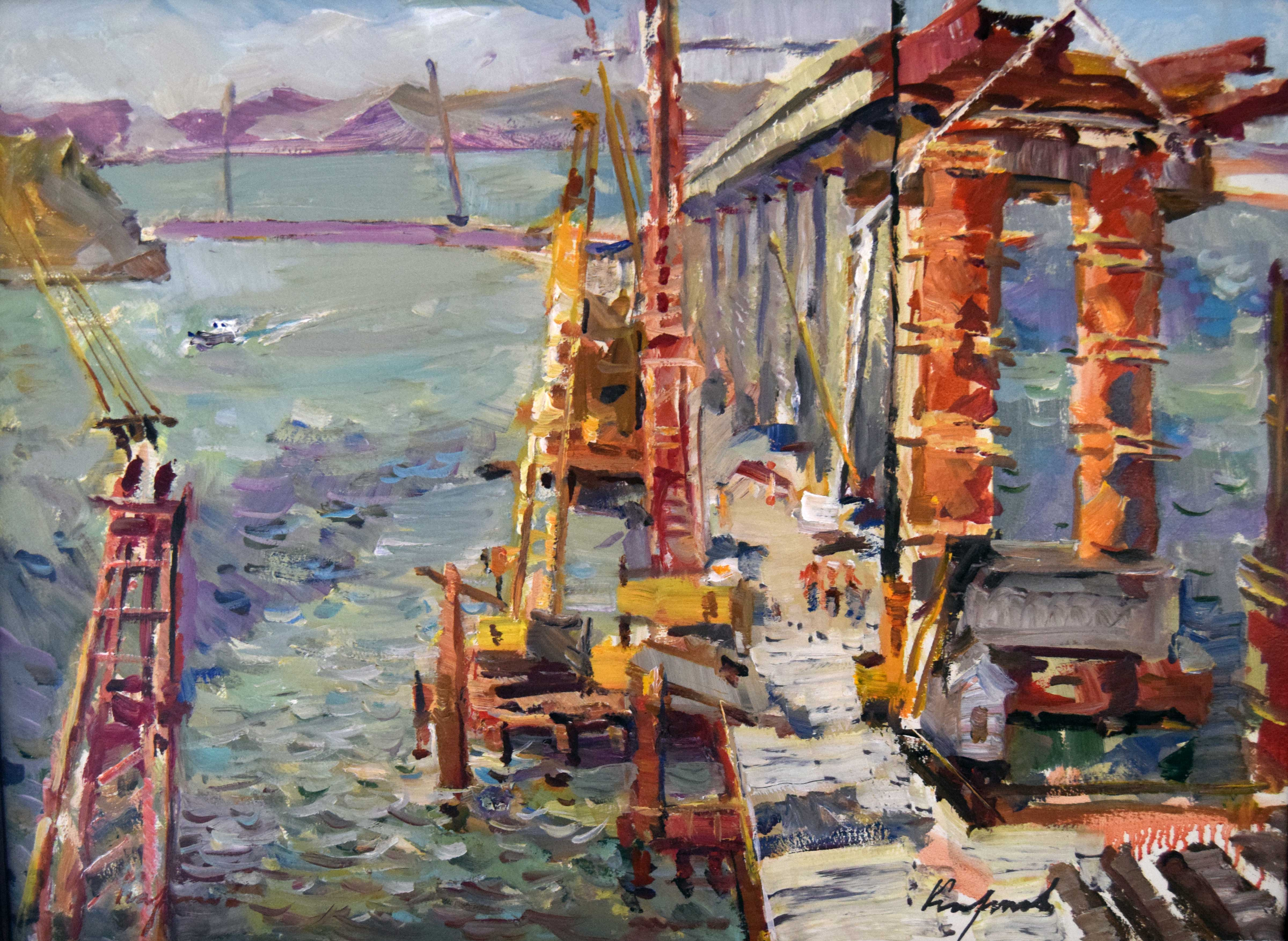 Крымский мост картина 27