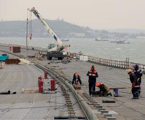 Крымский мост Март 2018