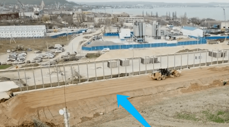 Крымский мост 31.03.2018
