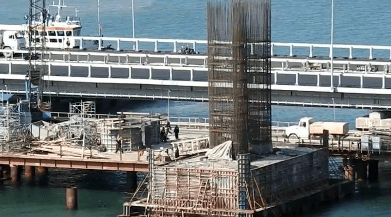 Новости строительства Крымского моста за 19 апреля 2018