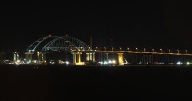 Новости строительства Крымского моста на 21 апреля 2018