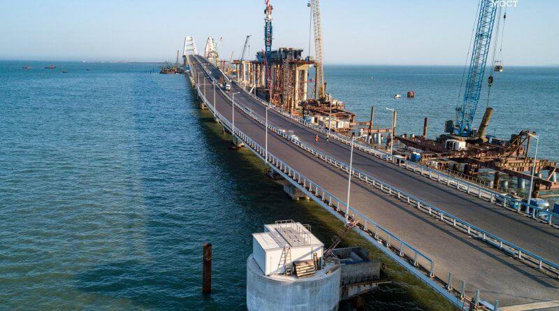Новости строительства Крымского моста на 23 апреля 2018