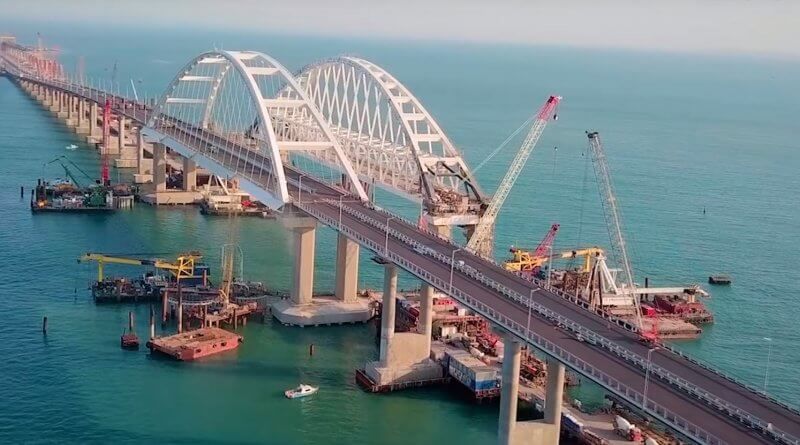 Открытие Крымского моста 16 мая 2018