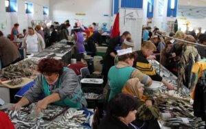Рыбный рынок Керчи