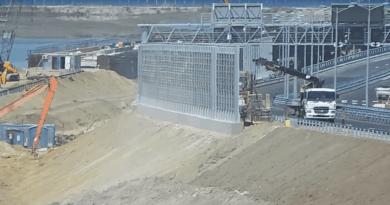 Крымский мост 02 мая 2018