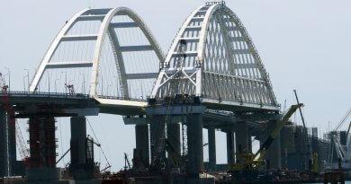 Крымский мост 12 мая 2018