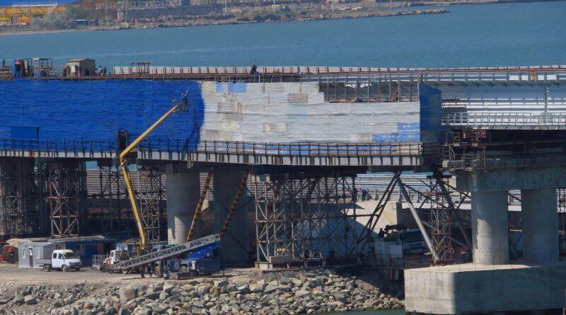 Крымский мост 13 мая 2018