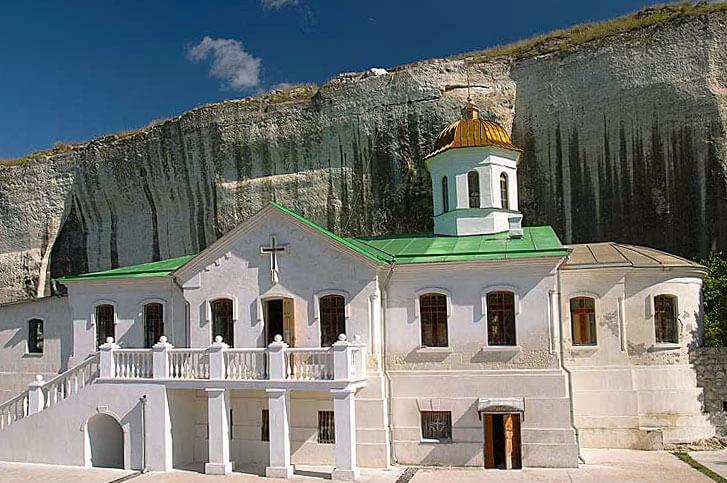 Инкерманский Свято-Климентовский пещерный мужской монастырь 3