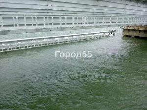 Падение пролета Крымского моста