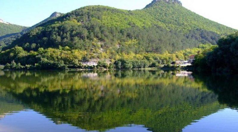 Озеро Мангуп (Девичье)